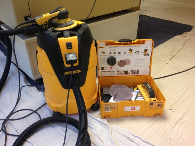 Mirka Sanding and Dust Extraction Unit